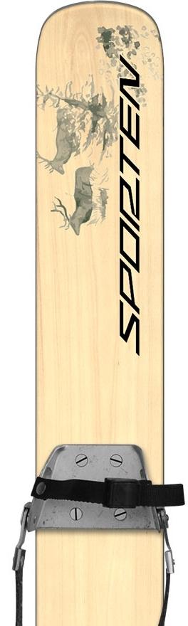 Sporten Hunter lovecké speciální lyže  e7d3376d51f